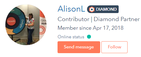 Alison Leishman hubspot community
