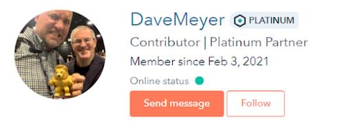 Dave Meyer hubspot community