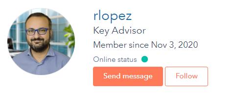 Rafael Lopez hubspot community