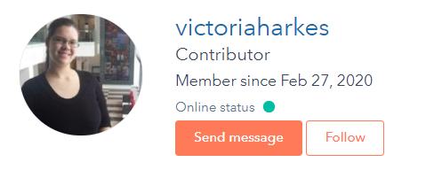 Victoria Harkes hubspot community