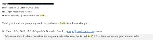 Suzuki case study 2018 email 1
