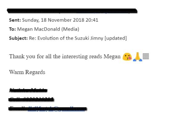 Suzuki case study 2018 email 4