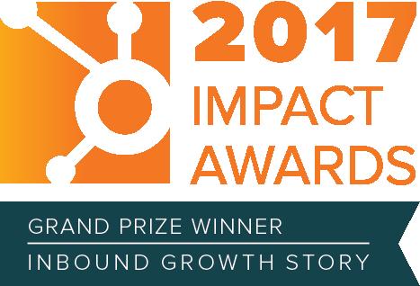HubSpot Impact Award Winner (Inbound Growth Story) - Spitfire Inbound Marketing Agency