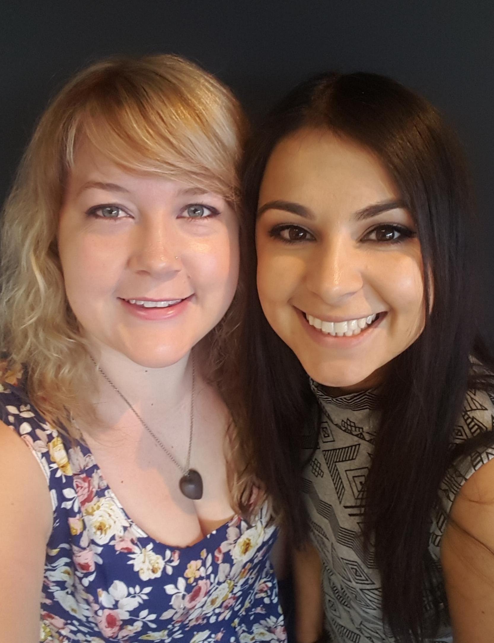 Jennifer Vieira and Samantha Steele